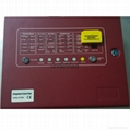 4 ZONE Gas fire controller AUTOMATIC EXTINGUISHER CONTROL PANEL