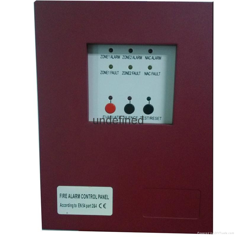 :2 Zones Mini Conventional Fire Alarm Control  Panel 1