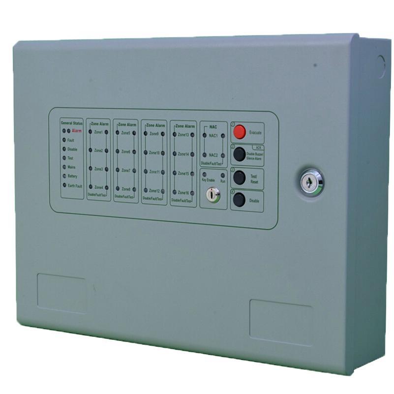8Zones Conventional Fire Alarm Control Panel Alarm Host 1