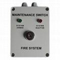 Maintenance Switch for Extinguisher control  system