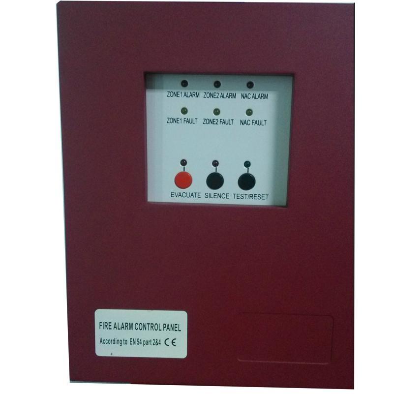 2 Zone Fire Alarm Control Pane