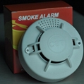 Stand alone 9v battery operated photoelectric smoke detector 2