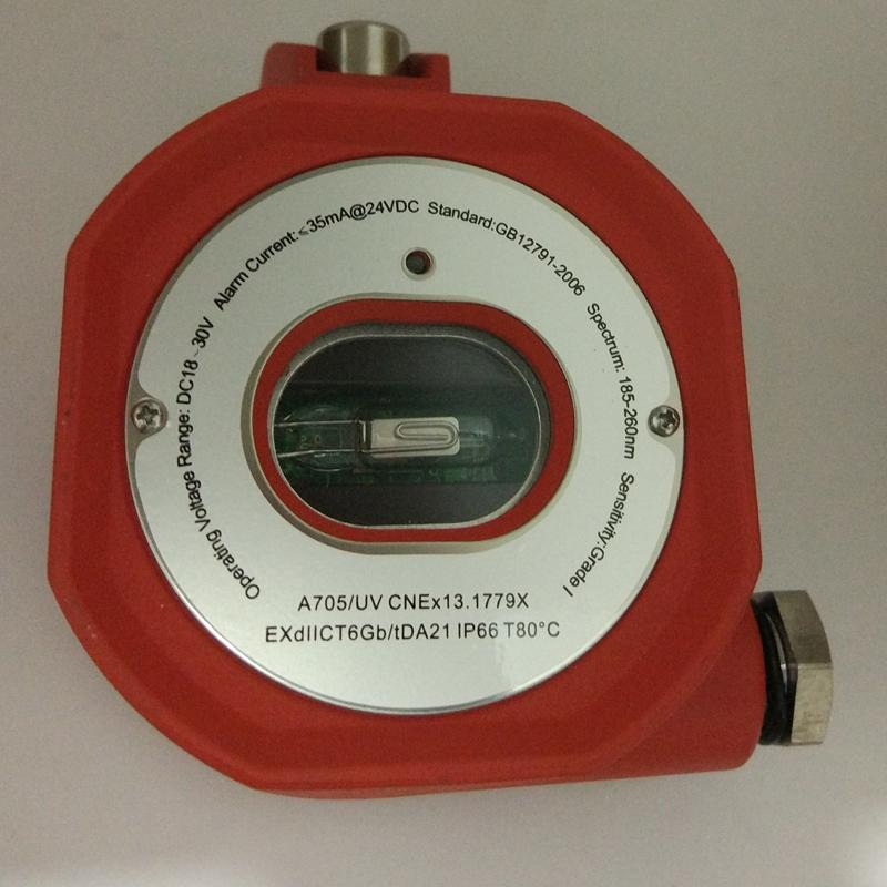 Dry contact Ex  EXdIICT6 UV flame detector replay output 2