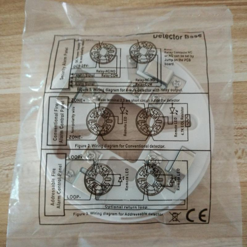 Smoke Detector conventional 2-wire EN54-7 approved 4