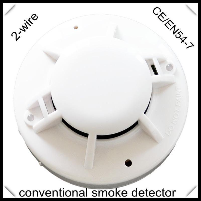 Smoke Detector 2 wires Conventional Smoke Alarm EN54 certified