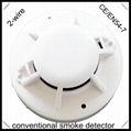 Smoke Detector 2 wires Conventional Smoke Alarm EN54 certified