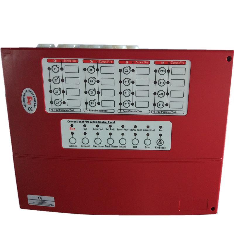16 Zones Conventional Fire Alarm Control Panel Controller Alarm host  2