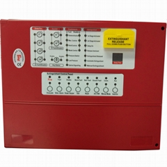 4 zones Extinguishant Control Panel Fire Fighting Panel