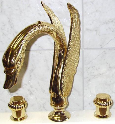 gold swan bathtub faucet. pvd gold swan sink bathtub faucet mixer tap widespred lavatory 1 e