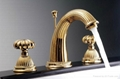 Gold pvd waterfall faucet new design
