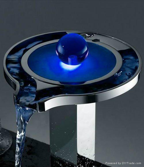 NEW LED WATERFALL basin  FAUCET 1