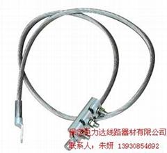 OPGW金具接地線 OPGW光纜金具附件