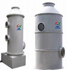 東莞深圳環保玻璃鋼廢氣淨化塔