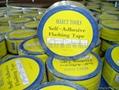 Aluminum foil the adhesive tape