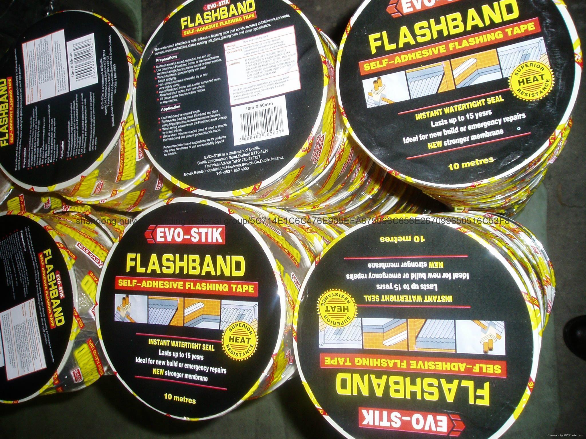 Self adhesive bitumen flashing tape/BAND - 1 0,1 2,1 5mm - FLASHING