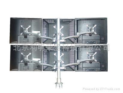 六屏液晶顯示器支架 1