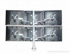 六屏液晶显示器支架