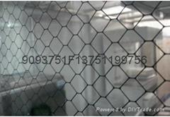 防靜電透明網格窗帘