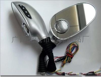 摩托車后視鏡MP3音響 2