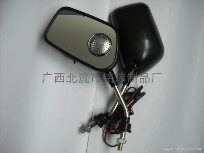 摩托車后視鏡MP3音響 4