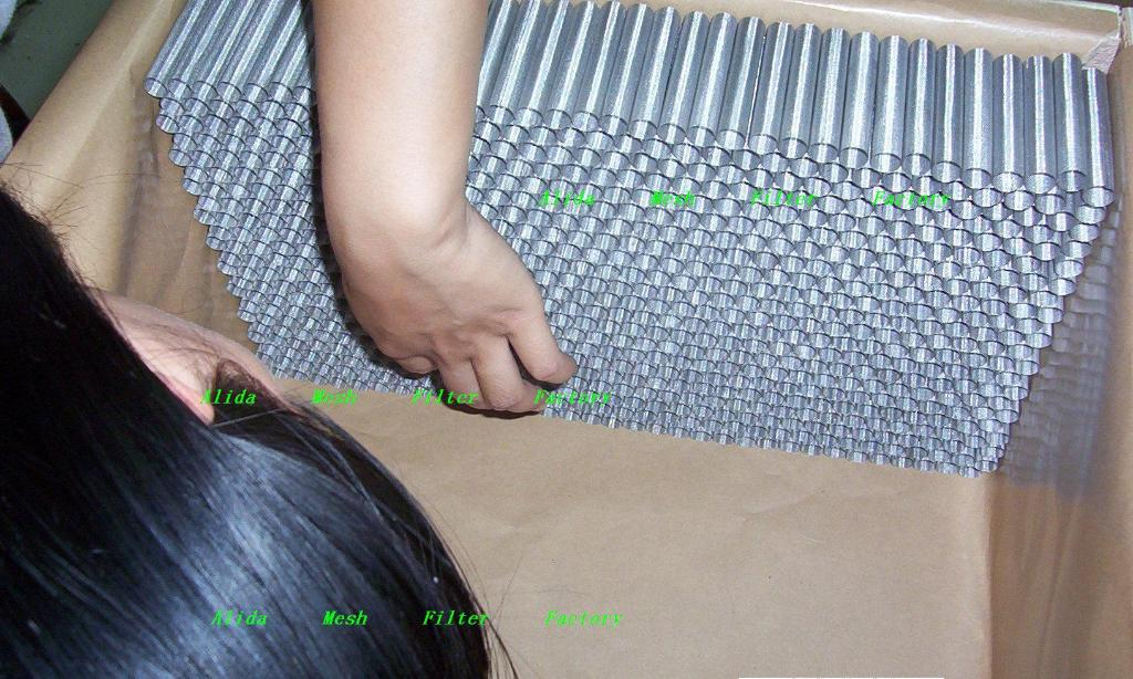 Filter cylinder  Filter Disc made from woven wire cloth 1
