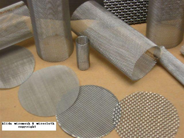 Filter cylinder  Filter Disc made from woven wire cloth 2