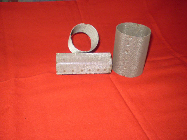 Filter cylinder  Filter Disc made from woven wire cloth 4