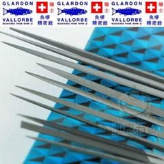 瑞士鱼牌GLARDON-VALLORBE扁圆形方三角半圆形钢锉刀