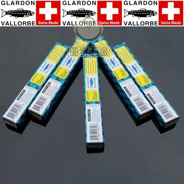 瑞士魚牌GLARDON-VALLORBE扁圓形方三角半圓形鋼銼刀 3