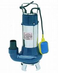 1.1KW排污泵 自动型V1100F 口径3寸铸铁雨天积水排水泵