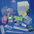 東莞PVC天地盒梯形盒透明折盒