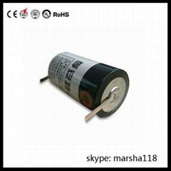GPS tracker battery ER34615 3.6v 19000mAh D size lithium battery