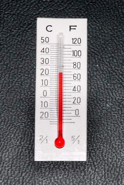 Как из бумаги сделать термометр