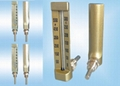 Angular Board-Type Thermometers(V-line Industrial Glass Thermometer)