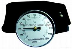 磁铁温度计,磁性温度计,涂装温度计,模具温度计,表面温度计
