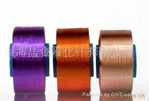 色紡長絲 2