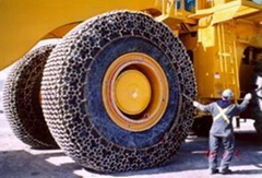 50剷土機械輪胎保護鏈