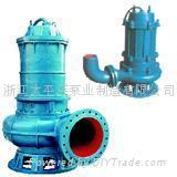 浙江QW型移动式潜水排污泵