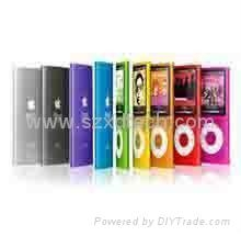 iPod Nano 4th 5th Gen Touch Screen Scroll Wheel MP4 Player Support Micro SD Card