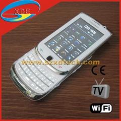 High Quality Dual Sim Slide Keyboard Replica Blackberry Torch With TV Wifi