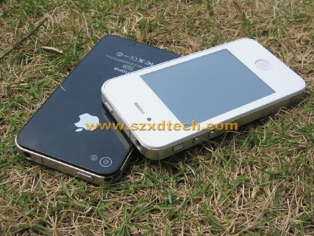 Cheapest iPhone 4S Clone with TV Dual Sim Dual Standby Mobile Phone F8 2