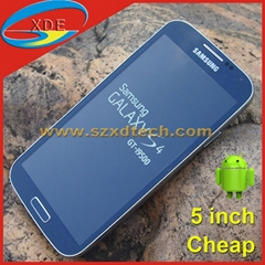 5.0 Inch Samsung S4 SIV GT-i9500 Copy Android Smart Phone 8GB for FREE