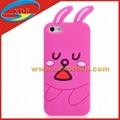 Cute Rabbit Design Silicon Cover