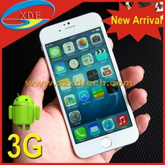 New Arrival ! New Apple Design iPhone 6 Android Smart Phone 3G Avaliable (Hot Product - 2*)