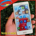 5 Inch Touch Screen Samsung Note 4 Mini Clone Android Smart Phone