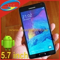 5.7 Inch Samsung Galaxy Note 4 1:1 Clone Android Phone