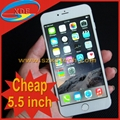 Cheapest 5.5 inch iPhone 6 Plus Clone Smart Mobile Phone Gold Silver Grey
