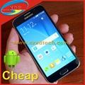 Cheapest S6 Replica Samsung Galaxy G9200 Glass Back Cover