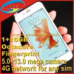 iPhone 6S Copy Octa-core 4G Free Network High Quality Camera Real Fingerprint (Hot Product - 5*)