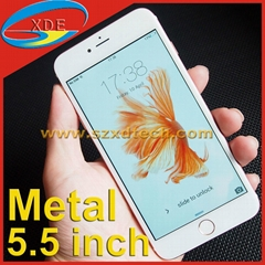 5.5 inch Replica iPhone 6S Plus Metal Body Cheap Android Phone